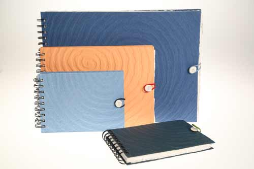 Sketchbooks in three sizes