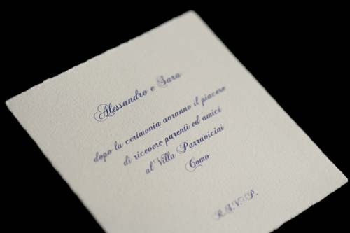 Invitation to wedding party, traditional style